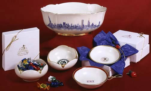 Pickard Gift Bowls