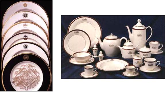 custom china and dinnerware for hotels  governments  businesses  and homes from pickard china