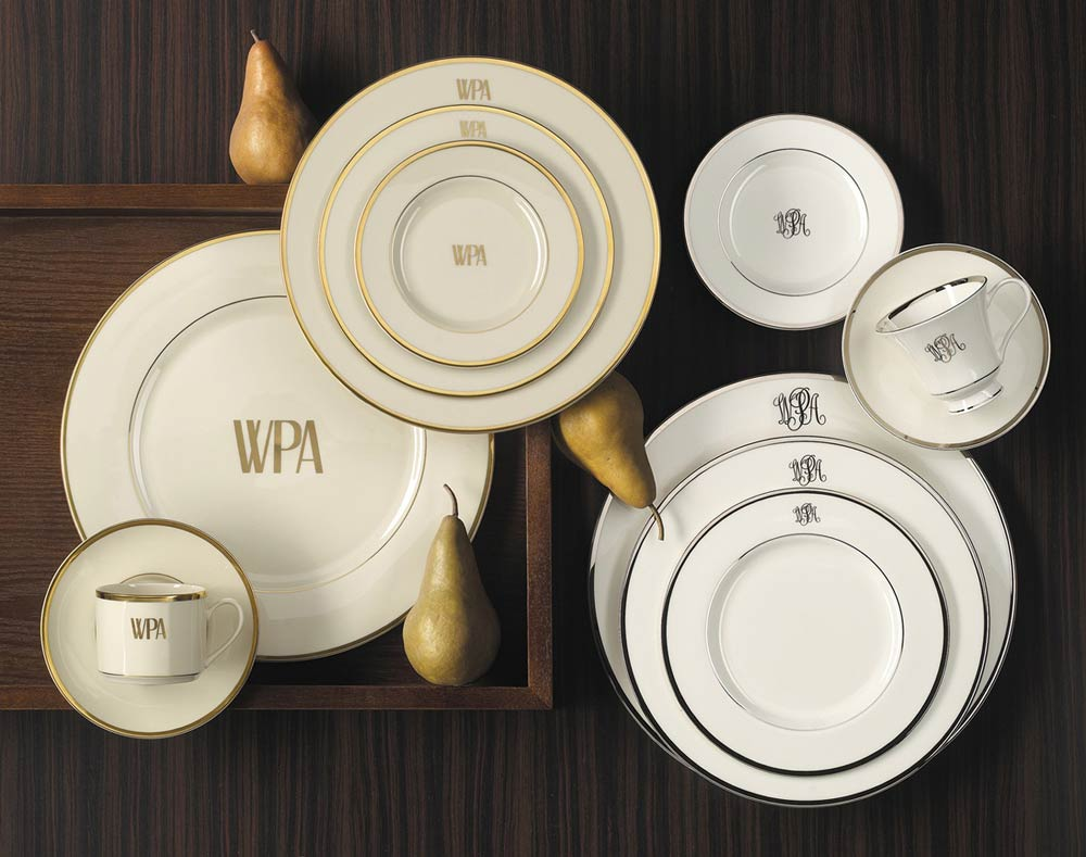 Pickard Monogrammed and Custom Pickard China and Fine