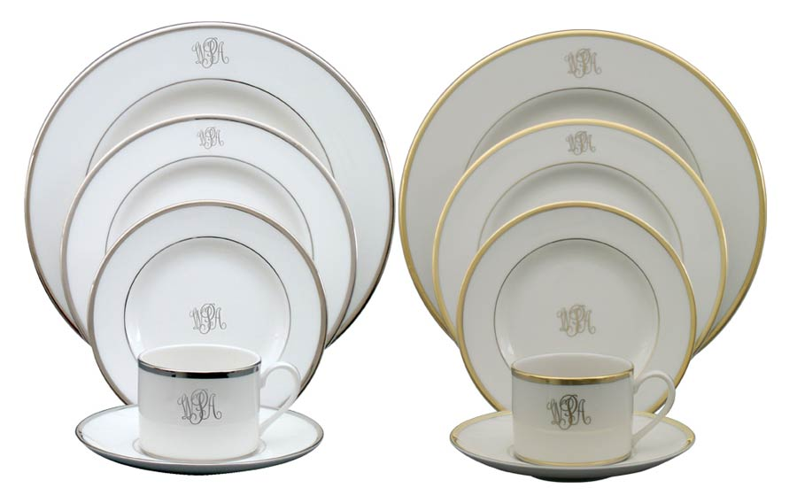 Pickard Monogrammed And Custom Pickard China And Fine Dinnerware Cool Fine China Patterns