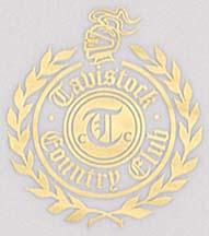 Tavistock Country Club logo detail