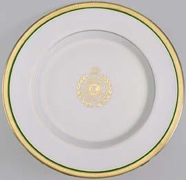 Tavistock Country Club plate