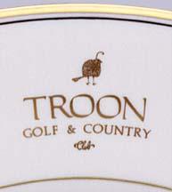 Troon Golf & Country Club logo detail
