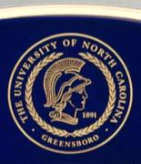 UNC Greensboro logo detail