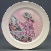 Little Girl Plate
