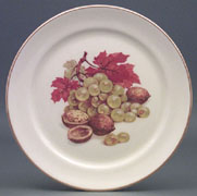 Grapes & Nuts Plate