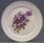 Violets Plate